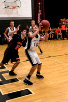 Centralia 8th Boys vs. Macon on 11-10-2016