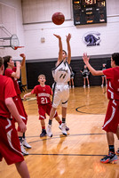 Centralia 7th Boys vs. Harrisburg on 12-02-2016