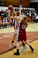 Centralia V Girls vs. Louisiana on 02-17-2015
