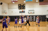 Centralia 8th Girls vs. Hallsville on 12-14-2015
