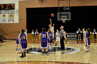 Centralia JV Girls vs. Hallsville on 11-23-2015