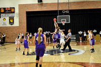 Centralia V Girls vs. Hallsville on 12-18-2015
