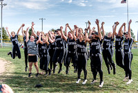 Softball Quarterfinal Post-Game Celebration