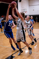 Centralia 8th Girls vs. Boonville on 12-02-2016