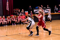 Centralia 8th Girls vs. Harrisburg on 12-09-2016