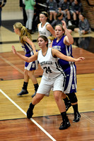 Centralia Girls vs. Hallsville on 12-12-2014