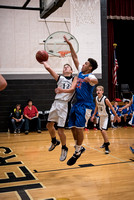 Centralia 8th Boys vs. Moberly on 11-07-2016