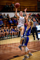 Centralia V Girls vs. Brookfield on 01-31-2017